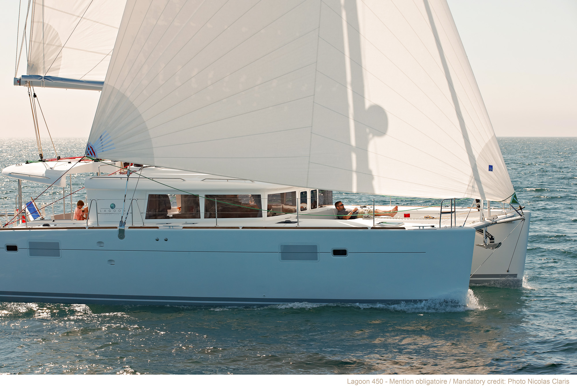 Lagoon 450 Bareboat Charter