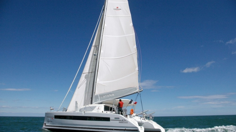 catana 47 bareboat charter