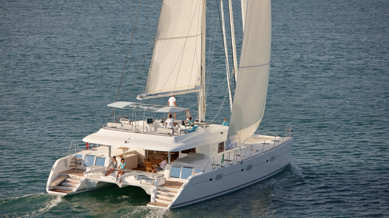 Lagoon 620 Crewed Yacht Charters