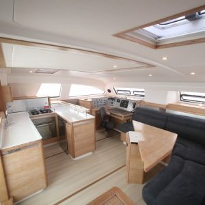 catamaran vacations aboard a catana 55 are comfortable