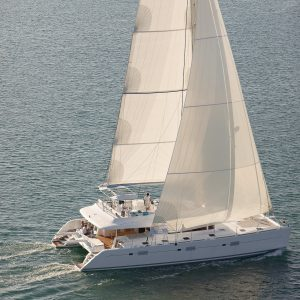 Lagoon 620 Crewed Yacht Charters in Caribbean and Tahiti