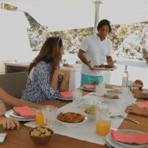 fountaine pajot ipanema 58 gourmet meals prepared by personal chef