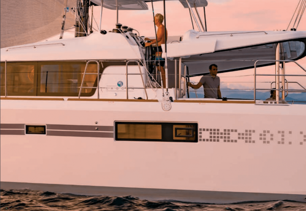 lagoon 52 bareboat catamaran charter