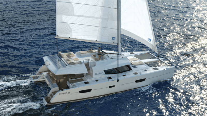 all inclusive luxury yacht charter aboard fountaine pajot ipanema 58 catamaran